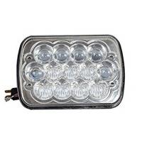 7 Inches 5D Led Square Work Light 13 Pieces*5W Cree Chips 5800lm With Die-Cast Aluminum Housing Manufactures