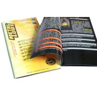 OEM / ODM Saddle Stitching Catalog Color Booklet Printing Service with C2S Art Paper Manufactures