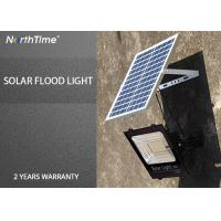 6500K Solar LED Garden Lights , Rechargeable Outdoor Solar LED Floodlight Manufactures
