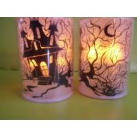 Quality LED flashing tea-light Christmas LED candle Indoor decorated Halloween LED candle Flamless LED candle for sale