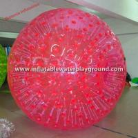 Promotional Big Human Sized Zorb Inflatable Bumper Ball With Soft Handles Manufactures
