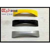 Simple Modern ABS Plastic Handle , Arched  White Kitchen Cabinet Pulls Colorful Dresser Knobs Manufactures
