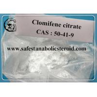CAS 50-41-9 Legal Oral Steroids assay 99% Hormone Clomifene Citrate Clomid Powder Manufactures
