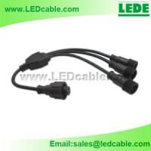 LED Lighting Waterproof Splitter Cable