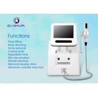 Portable HIFU High Intensity Focused Ultrasound Wrinkle Removal Machine Three Treatment Head Manufactures