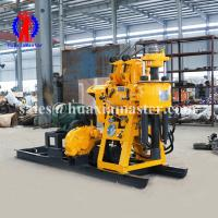 130m depth rock core sampling machine/hydraulic water well drilling rig HZ-130Y/borehole drilling equipment good quality Manufactures