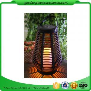 Decorative Solar Garden Lights , Vase Shaped Solar Lights For Outside Manufactures