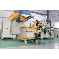 PLC Programmable Controller NC Servo Feeder with Uncoiler And Straightener With Electric Eye Loop Control System Manufactures