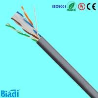 Cat 6 network cable U/UTP solid cu consists of 100 ohm impedance Manufactures