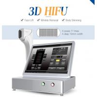 Beauty machine Intensity focused ultrasound hifu portable machine body slimming 3d hifu Manufactures