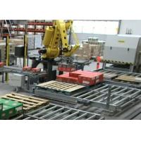 Quality High Speed Robotic Palletizing System / Stacking Machine With Edit and Remote for sale
