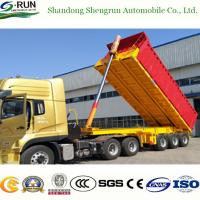 Buy cheap Shengrun Back Dump and Tipper Flatbed Truck Trailer with Box from wholesalers