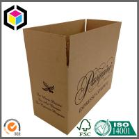 Black Color Print RSC Corrugated Cardboard Carton Shipping Box Manufactures