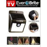 China Ever Brite as seen on tv solar motion activated outdood LED light on sale