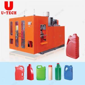 Automatic 1L 5L Lube Oil PE Plastic Processed extrusion Bottle blow molding machine Manufactures