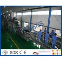 65 - 72 Brix Machine Fruit Juice Apple Processing Line With Self CIP System Manufactures