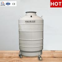 China TIANCHI Liquid Nitrogen Tank 100L Semen Container Price on sale