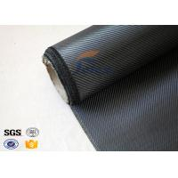 China Light Weight Silver Coated Carbon Fiber Fabric  , Twill Carbon Fiber Cloth on sale