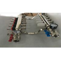 304 Or 201 Stainless Steel Radiant Floor Heating Manifold 5 Ways Manufactures