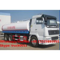 Quality Factory sale best price SINO TRUK HOWO 6*4 LHD 20m3 water sprinkling truck, HOT SALE! HOWO 20,000L cistern tank truck for sale