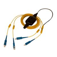 Multi Mode OM2 Fiber Optic Patch Cable FC To FC Duplex Tracer Light Durable Manufactures