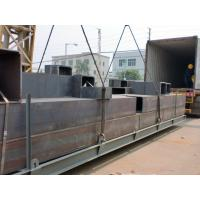 Heavy Steel Building Frames Painting Boxed Columns For Chile Factory Manufactures