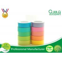 Coloured Printed Parcel Tape , Transparent Bopp Tape For Paper Sealing Manufactures