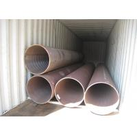 Boiler Pipe ASTM Carbon Steel Pipe 30'' 762mm Solid Material OD Long Lifespan Manufactures