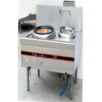 370W Silver Natural Gas Cooking Stove , Commercial Kitchen Equipments Manufactures