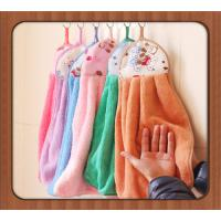 Multi-function Soft Cleaning Microfiber Towel, multi-color absorbent hand kitchen towel Manufactures