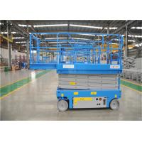 14m 200kg Hydraulic Scissor Lift ., Lightweight Scissor Lift Front Wheels Drived Manufactures