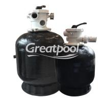Quality Eco Friendly Water Filtration Top Mount Sand Filter Black Sand Cleaning Machine for sale