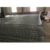 6 foot  x 10 foot chain link temporary mesh fence 1-1/4 inch pipes ,mesh 2-3/8 inch x 11.5 gauge wire Manufactures