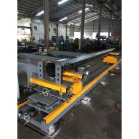 Quality Tapered Power Pole Welding Machine Fit Up Table Pole Body And Flange Welding for sale