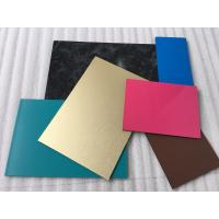 Quality Spectra Blue Aluminium Interior Wall Panels Anti - Dust With High Impact for sale