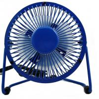 promotional gift 2.5W air cooling metal USB fan for any occasions and seasons Manufactures