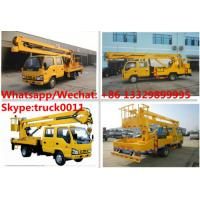 Quality Japan brand ISUZU 12M,14M,16M aerial working platform truck for sale, HOT SALE! for sale