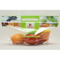 Stand Up Fresh Fruit Bags Packaging BOPP Material Reusable With A Tear Notch Manufactures