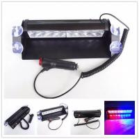 Car Police Strobe Flashlight , Universal 12V 640lm 8W Emergency Warning Lights Manufactures