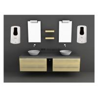 Spray Commercial Bathroom Soap Dispensers , commercial soap dispensers wall mounted Manufactures
