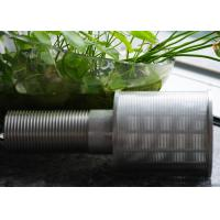 China Professional Stainless Steel Nozzles Thread Coupling For Sand Control on sale