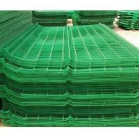 pvc coated fence wire/carbon steel wire mesh fence Manufactures