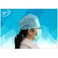 Disposable surgical cap with elastic , polypropylene fabirc , sweat absorption type Manufactures