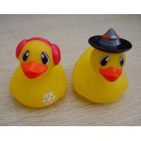 5cm Length Mini Yellow Cute Rubber Ducks ,  Bathroom Rubber Ducks Phthalates Free Manufactures