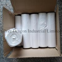 Natural color high density polyethylene can liners on rolls, 6 to 30 microns are available Manufactures