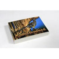 Poster / Flyer Postcard Printing Services Hardcover Binding , Cardboard Paper Manufactures