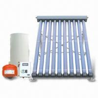 Split Solar Water Heating System, Works with High Pressure, Easy-to-install Manufactures