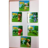 Children Card Book WITH Matt Lamination and stamping Cover,Custom Board Book Printing,Lovely Books For Kids Manufactures