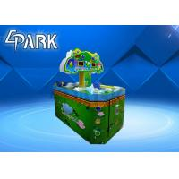 2 Players Kids Coin Operated Ticket Redemption Machine Hit Frog Game Manufactures