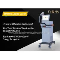 Big Spot Size Diode Laser Hair Removal Machine Strong Cooling Capacity Manufactures